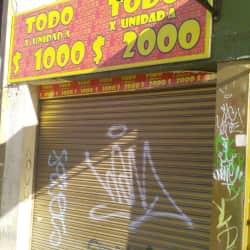 Todo x Unidad a $1000 y $2000 en Bogotá