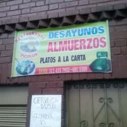 Restaurante Picolos en Bogotá