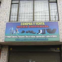 Compra y Venta Moda Universal en Bogotá