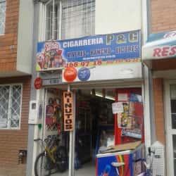 Cigarrería P y G en Bogotá