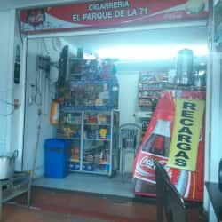 Cigarrería el Parque de la 71 en Bogotá