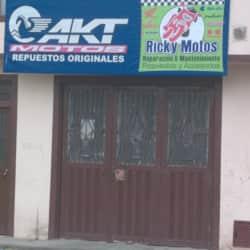 Ricki Motos en Bogotá