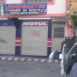 Montallantas Bochica en Bogotá