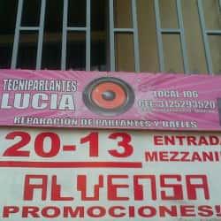 Tecniparlantes Lucia en Bogotá