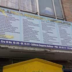 Asistencia Jurídica Profesional Y Especializada en Bogotá