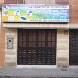 Centro de Impresión Digital Copi en Bogotá