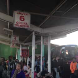 Terminal de Buses La Paz en Santiago