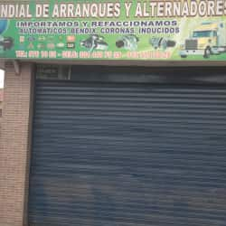 Mundial De Arranques Y Alternadores en Bogotá