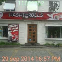 Hashi and Roll en Santiago