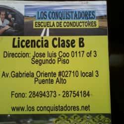 Escuela De Conductores Los Conquistadores Puente Alto en Santiago