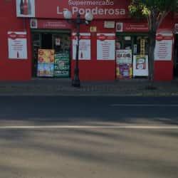 Supermercado La Ponderosa en Santiago