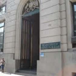 Ministerio de Obras Públicas en Santiago