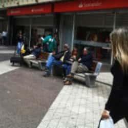 Banco Santander La Bolsa en Santiago