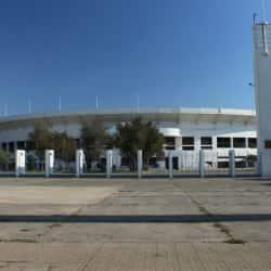 Court Central del Estadio Nacional en Santiago