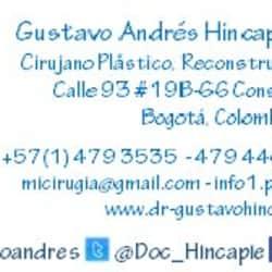 Doctor Gustavo Andres Hincapie en Bogotá