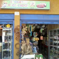 Juguetes Reciclados - Artesanía en Santiago