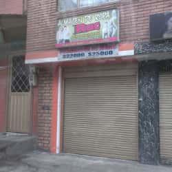 Almacén de Ropa RUC en Bogotá