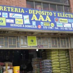 Ferreteria Deposito y Electricos AAA en Bogotá