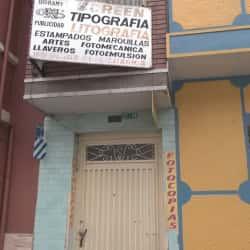 Digramy Tipografía Litografia en Bogotá
