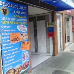 Delicias de Ubate en Bogotá