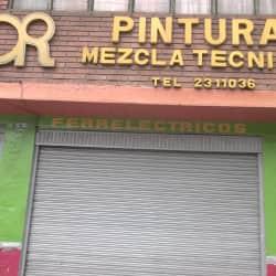 Pinturas mezcla tecnica en Bogotá