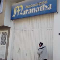 Restaurante Maranatha en Bogotá