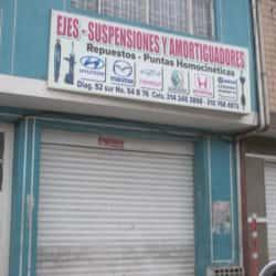 Ejes Suspensiones Y Amortiguadores en Bogotá