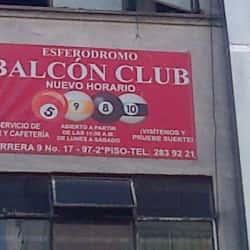 Esferedromo Balcon Club en Bogotá