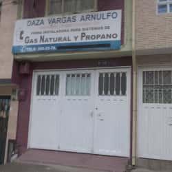 Gas Natural y Propano Daza Vargas Arnulfo en Bogotá