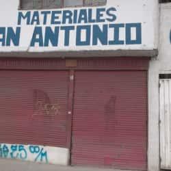 Materiales San Antonio en Bogotá