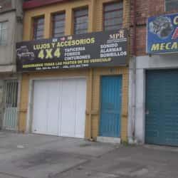 Lujos y Accesorios 4 x 4 en Bogotá