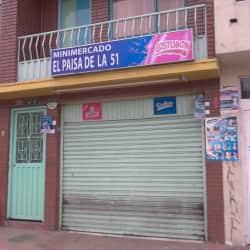 Minimercado El Paisa de la 51 en Bogotá