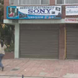 Servicio Electronico Sony en Bogotá