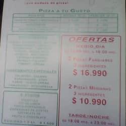La Pizzarra en Santiago