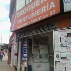 Drogueria y Perfumeria Comunitaria de la 80 en Bogotá