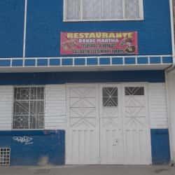 Restaurante Donde Martha en Bogotá