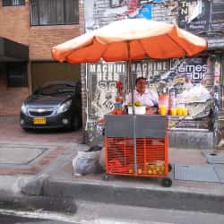 Puesto Ambulante Jugo de Naranja Janeth Sierra en Bogotá
