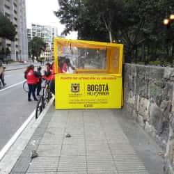 Punto de Atención al Ciclista en Bogotá