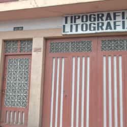 Tipografía Litografía Diagonal 47A en Bogotá