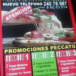 Peccato Pizzas en Santiago