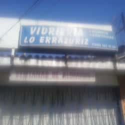 Vidriería Lo Errázuriz  en Santiago