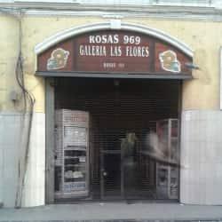Galería Las Flores en Santiago