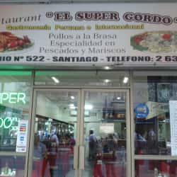 Restaurant El Super Gordo en Santiago