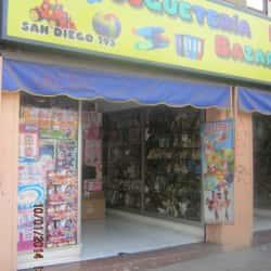 Juguetería San Diego en Santiago