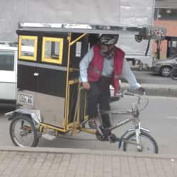 Bicitaxi Eduardo  en Bogotá