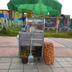 Puesto de Jugo de Naranja Doña Nuby Castañeda en Bogotá
