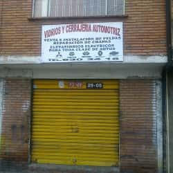 Vidrios y Cerrajería Automotriz en Bogotá