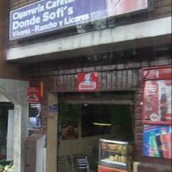 Donde Sofi's en Bogotá