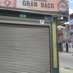 Cigarrería Gran Baco en Bogotá