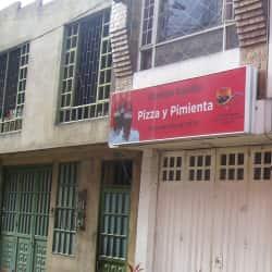 Comidas Rápidas Pizza y Pimienta en Bogotá